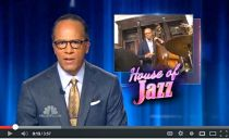 Lester Holt of NBC introduces a report about BrownstoneJazz at Sankofa Aban B&B